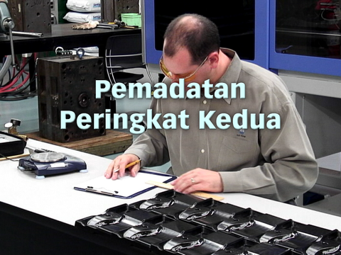 Establishing a Scientific Injection Molding Process (Bahasa Malaysia)